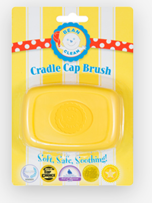Cradle Cap Brush packaging
